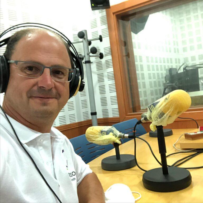 J. Ángel Cantueso en los micrófonos de Cadena Ser - CANTUESO - Natural Seeds