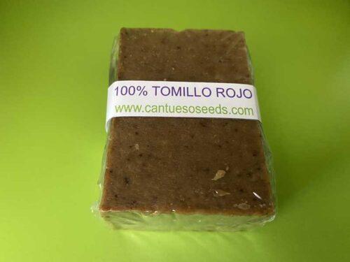 Jabón Natural de Tomillo Rojo