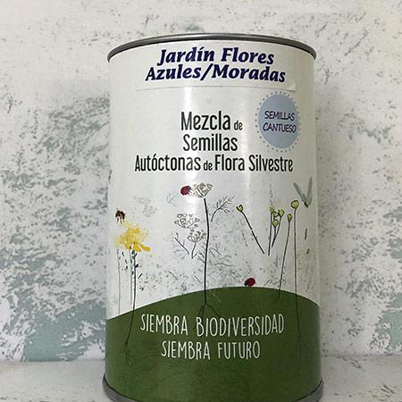Jardin de Flores Moradas y Azules - CANTUESO - Natural Seeds