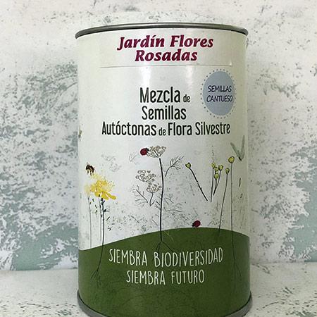 Jardin de Flores Rosadas - CANTUESO - Natural Seeds