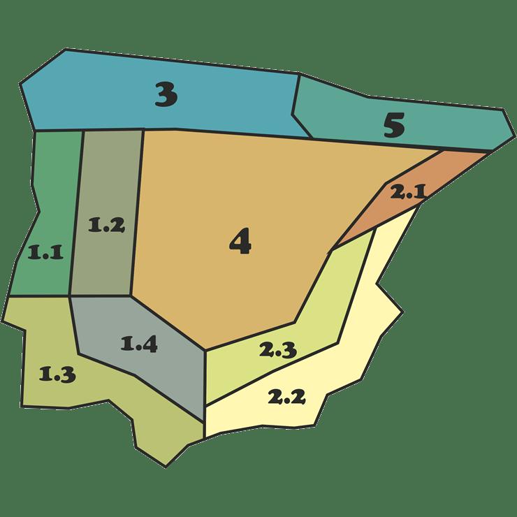 Mapa Mezclas - CANTUESO - Natural Seeds