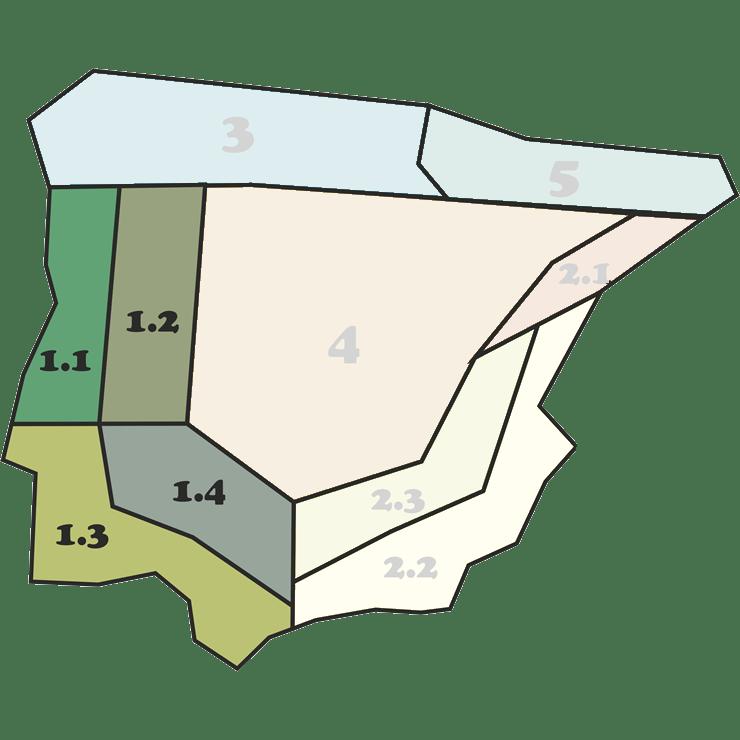 Mapa Mezclas 1 - CANTUESO - Natural Seeds