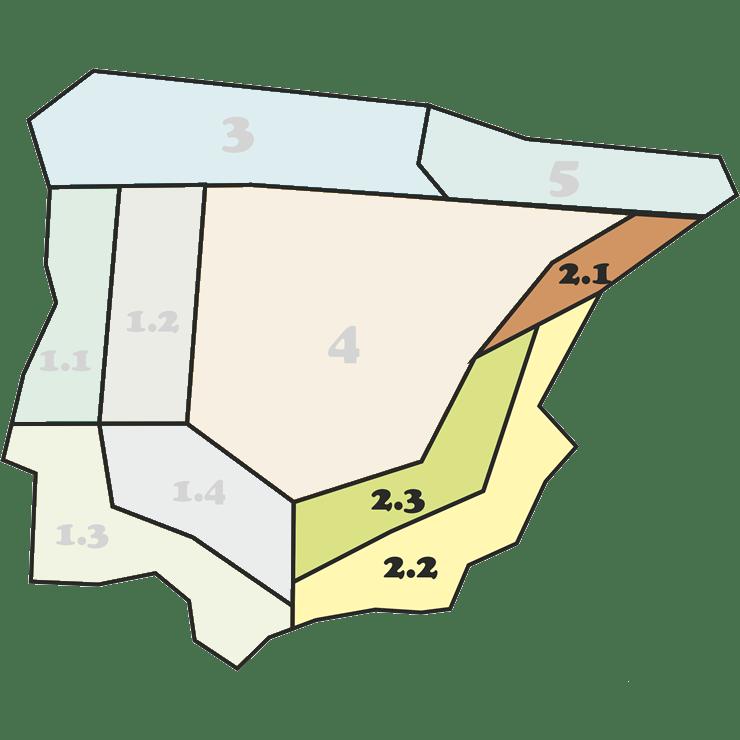 Mapa Mezclas 2 - CANTUESO - Natural Seeds