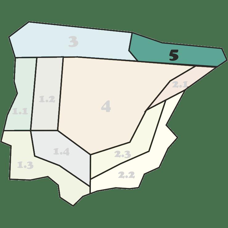 Mapa Mezclas 5 - CANTUESO - Natural Seeds