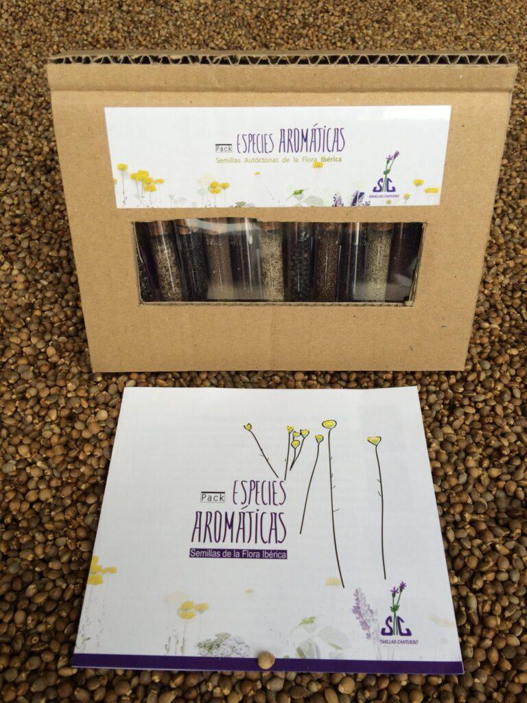 Pack-Pack de Semillas Aromáticas Cerrado - CANTUESO Natural Seedsde-Semillas-Aromaticas-Caja-CANTUESO-Natural-Seeds