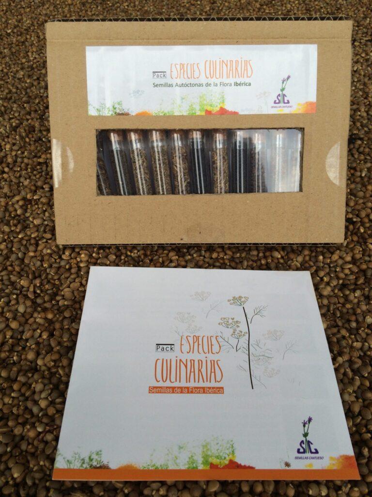 Pack de Semillas Culinarias Cerrado - CANTUESO Natural Seeds