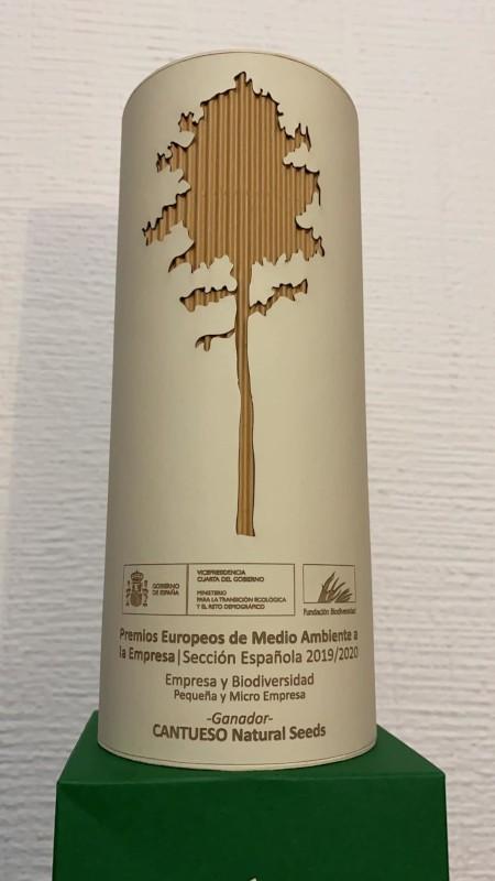 Premcio EBAE - Empresa y Biodiversidad 2020 - CANTUESO Natural Seeds