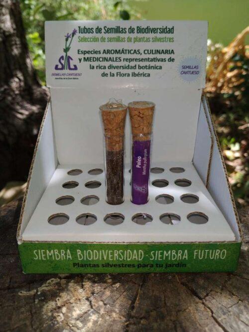 Tubo de Biodiversidad Poleo - CANTUESO - Natural Seeds