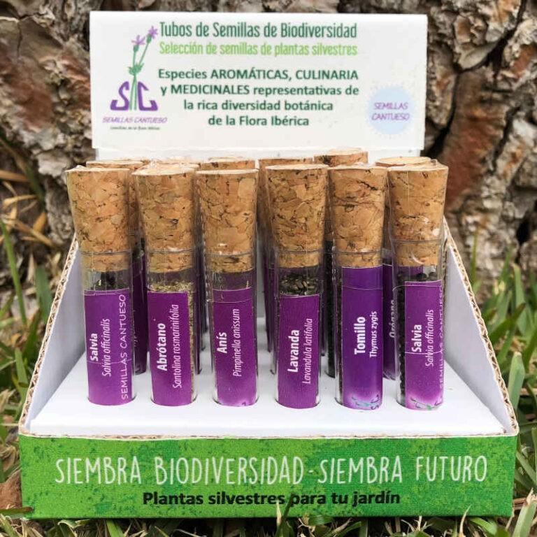 Tubos de Biodiversidad - CANTUESO - Natural Seeds