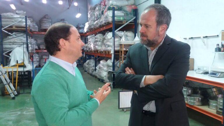 "Francisco de Paula Algar visita ""Semillas Cantueso"" - CANTUESO - Natural Seeds"
